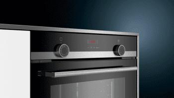 Horno Siemens HB574ABR0S Pirolítico Inoxidable de 60 cm | perfectCooking 3D | Programas automáticos cookControl | Clase A | iQ300 - 2