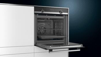 Horno Siemens HB574ABR0S Pirolítico Inoxidable de 60 cm | perfectCooking 3D | Programas automáticos cookControl | Clase A | iQ300 - 3