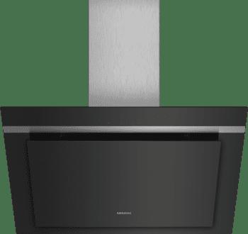 Campana de Pared Decorativa Siemens LC87KHM60 Cristal Negro de 80 cm con una potencia de 700 m³/h | Clase B | iQ300