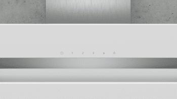 Campana de Pared Decorativa Siemens LC87KHM20 Cristal Blanco de 80 cm con una potencia de 700 m³/h | Clase B | iQ300 - 2