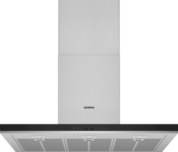 Campana de Pared Decorativa Siemens LC98BIP50 Metallic de 90 cm con una potencia de 843 m³/h | Motor iQdrive Clase A+ | iQ500