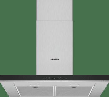 Campana de Pared Decorativa Siemens LC77BHP50 Metallic de 70 cm con una potencia de 674 m³/h | Motor iQdrive Clase A | iQ500