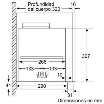 Campana Telescópica Extraíble Siemens LI69SA684 Metallic de 60 cm con una potencia de 935 m³/h | Motor iQdrive Clase A | iQ700 - 2
