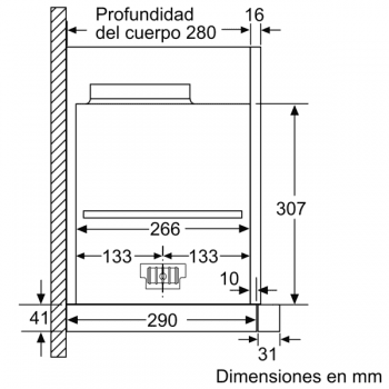 Campana Telescópica Extraíble Siemens LI69SA684 Metallic de 60 cm con una potencia de 935 m³/h | Motor iQdrive Clase A | iQ700 - 6