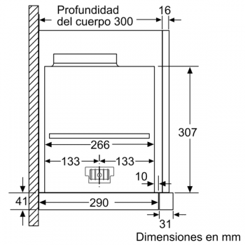 Campana Telescópica Extraíble Siemens LI69SA684 Metallic de 60 cm con una potencia de 935 m³/h | Motor iQdrive Clase A | iQ700 - 7