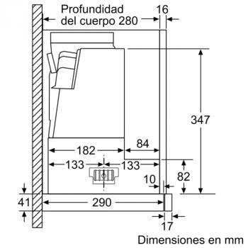 Campana Telescópica Extraíble Siemens LI97SA531 en Plata Metalizado de 90 cm con una potencia de 397 m³/h | Motor iQdrive Clase A | iQ300 - 13