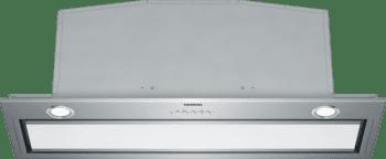 Grupo FIltrante Siemens LB89585M en Cristal Blanco de 86 cm con una potencia intensiva de 800 m³/h | Motor iQdrive de Clase A++ | iQ700
