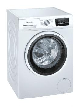 Lavadora Siemens WM12US61ES Blanca de 9 Kg a 1200 rpm | Autodosificación I-Dos | Tambor waveDrum | Motor iQdrive A+++ -30% | iQ500