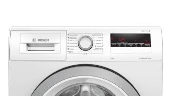 Lavadora Bosch WAN28281ES Blanca de 8 Kg a 1400 rpm | 65% más rápido speedPerfect | Motor EcoSilence A+++ -30% | Serie 4 - 2