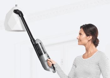 Aspiradora Sin cable Bosch BCH3P210 Acero Flexxo 21.6 V | 2 en 1: Aspirador escoba y Aspirador de mano  | Serie 4 | Stock ⭐ - 6