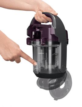 Aspirador Sin Bolsa Bosch BGC05AAA1 Violeta Compacto | Motor HiSpin con bajo consumo | Serie 2 | Stock ⭐ - 11