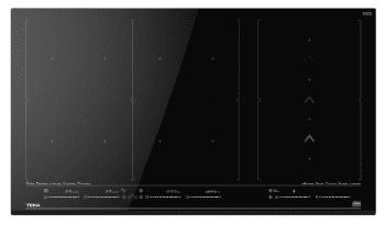 Placa de Inducción TekaIZF 99700 MST (Ref. 112500031) | 90 cm | 10 Zonas  - Flexibles con Control Multislider  | Función PowerPlus | Stop & Go