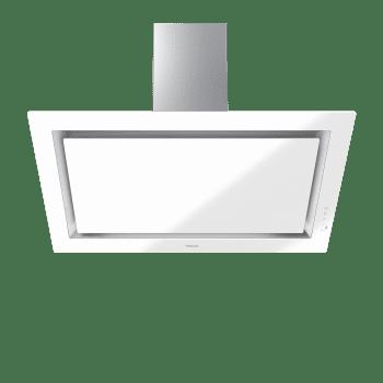 Campana decorativa vertical Teka DLV 98660 WH (112930030) en Cristal Blanco, de 90cm a 696 m³/h | Función FreshAir  | Clase A+