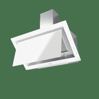 Campana decorativa vertical Teka DLV 98660 WH (112930030) en Cristal Blanco, de 90cm a 696 m³/h | Función FreshAir  | Clase A+ - 2