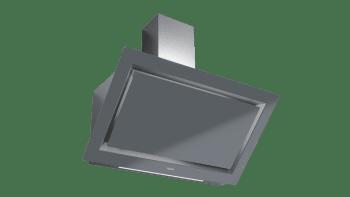 Campana decorativa vertical Teka DLV 98660 TOS (112930033) en Cristal Gris, de 90cm a 696 m³/h | Función FreshAir  | Clase A+ - 5