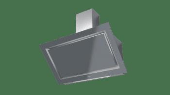 Campana decorativa vertical Teka DLV 98660 TOS (112930033) en Cristal Gris, de 90cm a 696 m³/h | Función FreshAir  | Clase A+ - 6