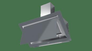 Campana decorativa vertical Teka DLV 98660 TOS (112930033) en Cristal Gris, de 90cm a 696 m³/h | Función FreshAir  | Clase A+ - 7