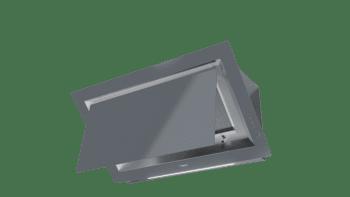 Campana decorativa vertical Teka DLV 98660 TOS (112930033) en Cristal Gris, de 90cm a 696 m³/h | Función FreshAir  | Clase A+ - 8