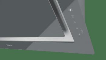 Campana decorativa vertical Teka DLV 98660 TOS (112930033) en Cristal Gris, de 90cm a 696 m³/h | Función FreshAir  | Clase A+ - 10