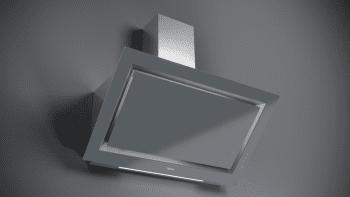 Campana decorativa vertical Teka DLV 98660 TOS (112930033) en Cristal Gris, de 90cm a 696 m³/h | Función FreshAir  | Clase A+ - 12