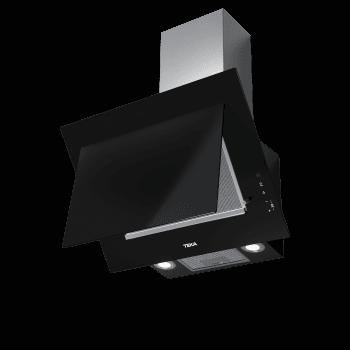 """Campana decorativa vertical Teka DVT 68660 TBS (112930039) en Cristal Negro, de 60cm a 698 m³/h   Sistema aspiración Dual y Perimetral """"Contour""""    Clase A+ - 7"""