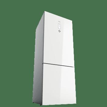 Frigorífico Combi Teka RBF 78720 (113400001) en Cristal Blanco, de 192 x 70 cm y 461 L, No Frost | Aire fresco IonClean | Clase E - 3