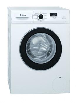 Lavadora Balay 3TS771B Blanca de 7 kg a 1000 rpm | Función Pausa + Carga | Motor Inverter Clase A+++ -10%