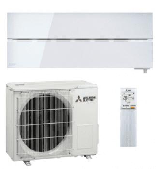 Aire acondicionado Mitsubishi Electric MSZ-LN35VGV Split 1x1 3,5kW Color Blanco Perla Brillante | WiFi | Clase A+++