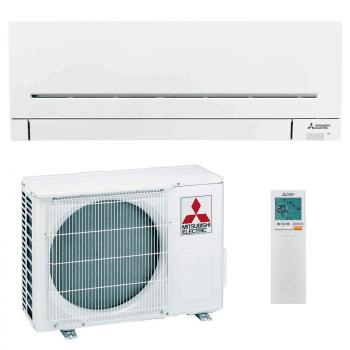 Set Aire acondicionado Mitsubishi MSZ-AP25VG(K) | Wi-Fi compatible con Alexa | Climatizador Inverter | Gas R32 | A+++ - 1