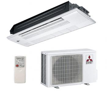 Set Aire Acondicionado Mitsubishi MLZ-KP25VF | Cassette | 2,5kW | Clase A++
