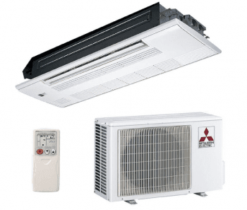 Set Aire Acondicionado Mitsubishi MLZ-KP35VF | Cassette | 3,5kW | Clase A++