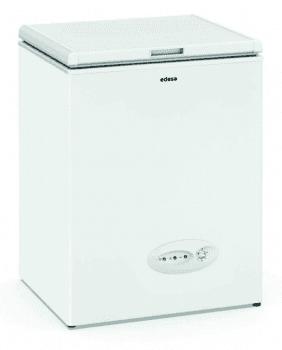 Arcón Congelador Edesa EZH-0911 Blanco de 83.5 x 60 x 53 cm con 88 L y tecnología Defrost | E