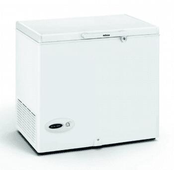 Arcón Congelador Edesa EZH-2014 Blanco de 86 x 89 x 69 cm con 209 L y tecnología Defrost