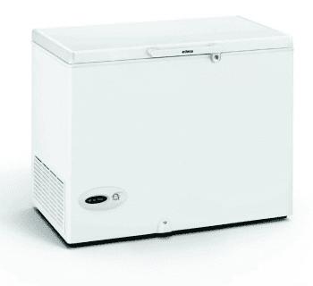 Arcón Congelador Edesa EZH-2811 Blanco de 86 x 109 x 69 cm con 275L y tecnología Defrost