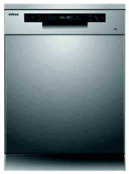 Lavavajillas Edesa EDW-6242 X Inoxidable de 84.5 x 59.8 cm para 14 servicios con 7 programas de lavado | Clase C