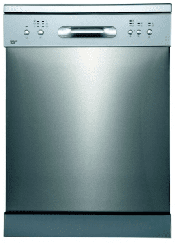 Lavavajillas Edesa EDW-6130 X Inoxidable de 84.5 x 59.8 cm para 13 servicios con 6 programas de lavado | Clase E