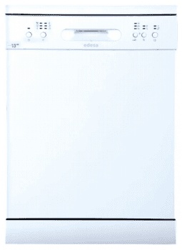 Lavavajillas Edesa EDW-6130 WH Blanco de 84.5 x 59.8 cm para 13 servicios con 6 programas de lavado | Clase E