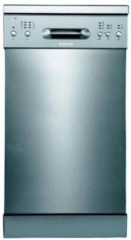 Lavavajillas Edesa EDW-4610 X Inoxidable, de 45 cm, para 10 servicios con 6 programas de lavado | Clase E
