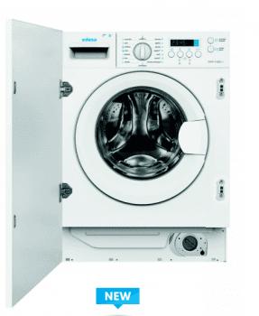 Lavadora Edesa EWF-1480-I /A de Carga Frontal, Integrable, de 8 Kg, a 1400 rpm con 16 programas de lavado | Clase B