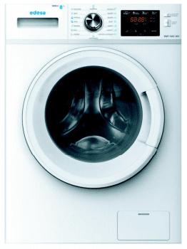 Lavadora Edesa EWF-1481 WH de Carga Frontal, Blanca, de 8 Kg, a 1400 rpm con 23 programas de lavado | Clase E | Stock