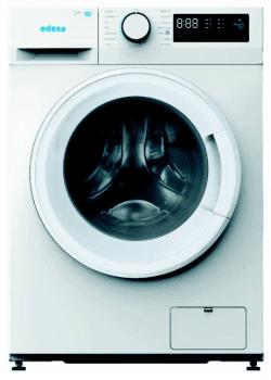 Lavadora Edesa EWF-1710 WH de Carga Frontal, Blanca, de 10 Kg, a 1500 rpm con 15 programas de lavado | Motor Inverter de Clase B