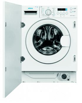 LavaSecadora Edesa EWS-1480-I /A de Carga Frontal, Integrable, de 8 Kg en lavado y 6 Kg en secado, a 1400 rpm con 16 programas de lavado | Motor Inverter de Clase B/E