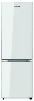 Frigorífico Combi Edesa EFC-1832 DNF GWH/A en Cristal Blanco de 188 x 59.5 cm con sistema No Frost