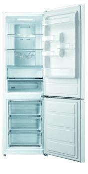 Frigorífico Combi Edesa EFC-1832 DNF GWH/A en Cristal Blanco de 188 x 59.5 cm con sistema No Frost - 2