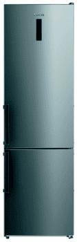 Frigorífico Combi Edesa EFC-1832 NF EX/A Inoxidable de 188 x 59.5 cm con sistema No Frost