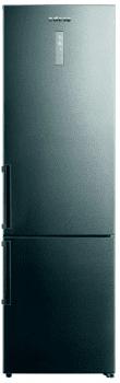 Frigorífico Combi Edesa EFC-2033 DNF EX/A Inoxidable de 201 x 59.5 cm con sistema No Frost | Clase D