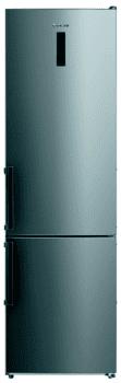 Frigorífico Combi Edesa EFC-2032 NF EX/A Inoxidable de 201 x 59.5 cm con sistema No Frost