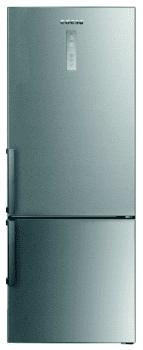 Frigorífico Combi Edesa EFC-7832 DNF EX/A Inoxidable de 188 x 70 cm con sistema No Frost