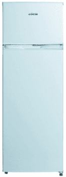 Frigorífico 2 Puertas Edesa EFT-1611 WH/A Blanco de 159 x 55 cm con capacidad de 235 L, las puertas son reversibles | Eficiencia F