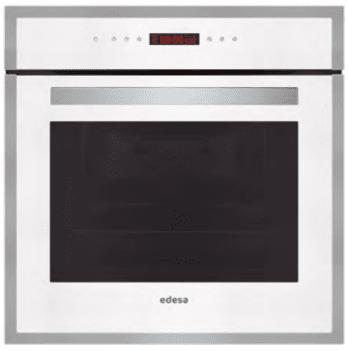 Horno Edesa EOE-7050 WH Blanco de 70 L con 9 + 2 programas de cocinado | Guías laterales telescópicas extraíbles | Clase A - 1